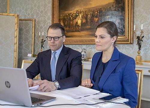 Kronprinsessan och Prins Daniel