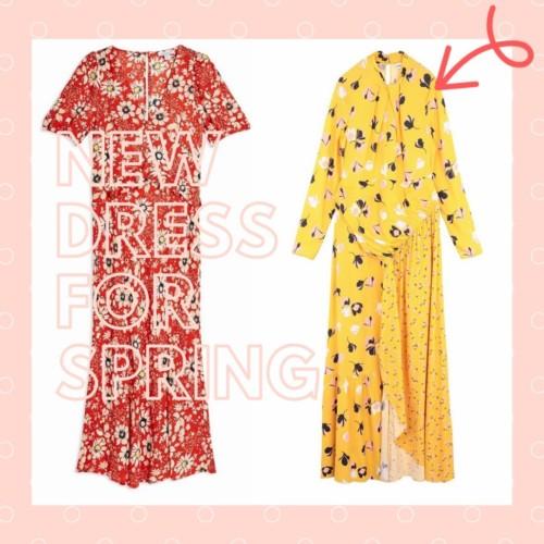 NEW DRESS FOR SPRING