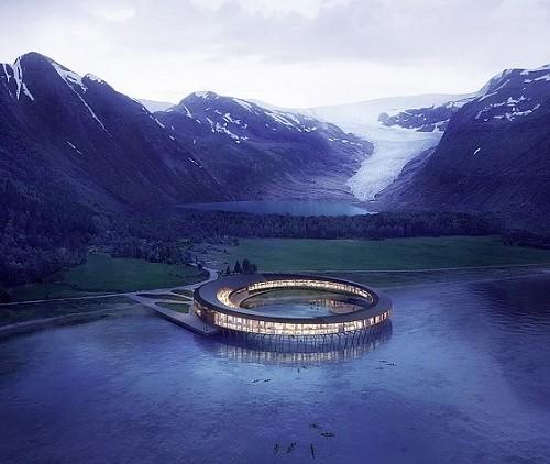 energy-positive hotel Svart