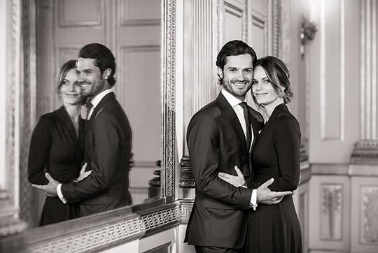 スウェーデン カール・フィリップ王子夫妻