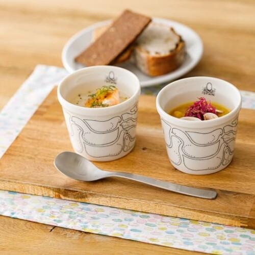 スープストックトーキョー 皆川明さんデザインのスープカップ
