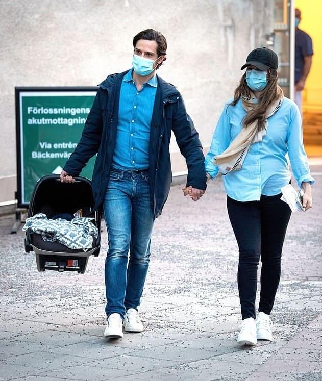 HRH Prince Carl Philip and HRH Princess Sofia