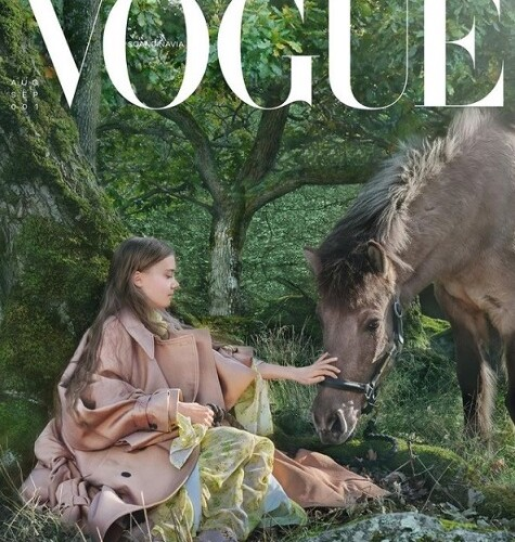 Vogue Scandinavia Cover