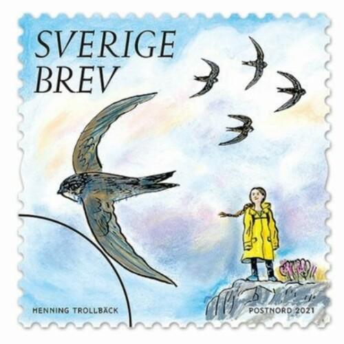 スウェーデンの郵便切手シリーズ