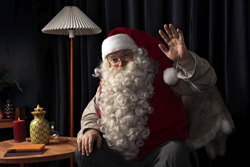 Say it with Santa